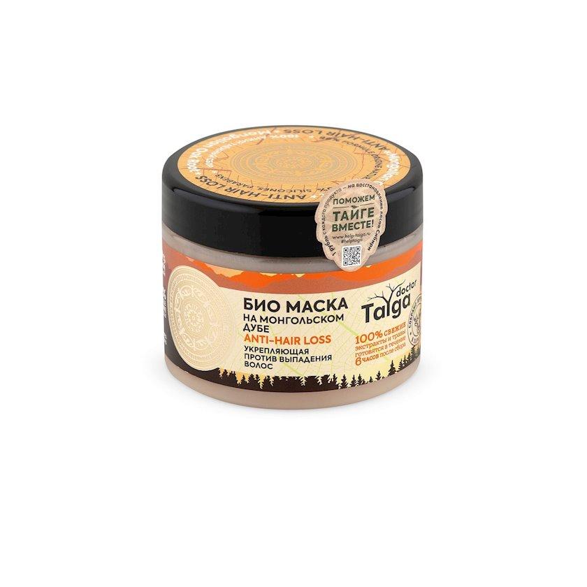 Maska Natura Siberica Doctor Taiga Bio Möhkəmləndirici saç tökülməsinə qarşı, 300 ml