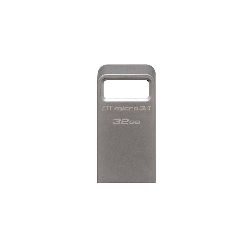 Flash yaddaş Kingston 32GB DTMicro USB 3.1/3.0 Type-A metal ultra-compact drive
