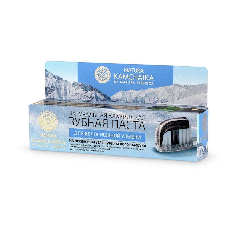 Diş  məcunu Natura Siberica Natura Kamchatka Ağappaq təbəssüm üçün , 100 ml