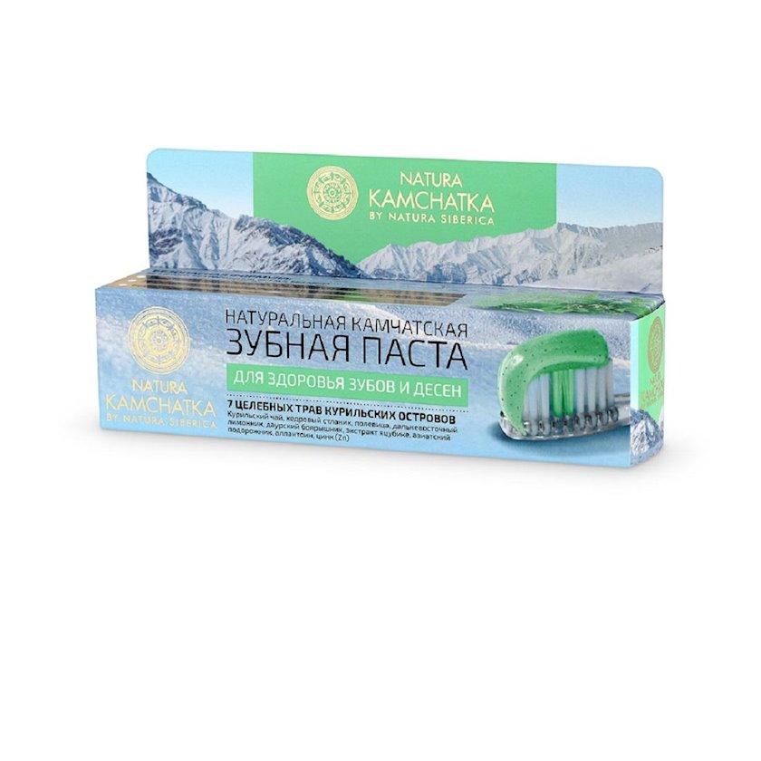Diş məcunu Natura Siberica Natura Kamchatka Diş və diş ətinin sağlamlığı üçün 100 ml