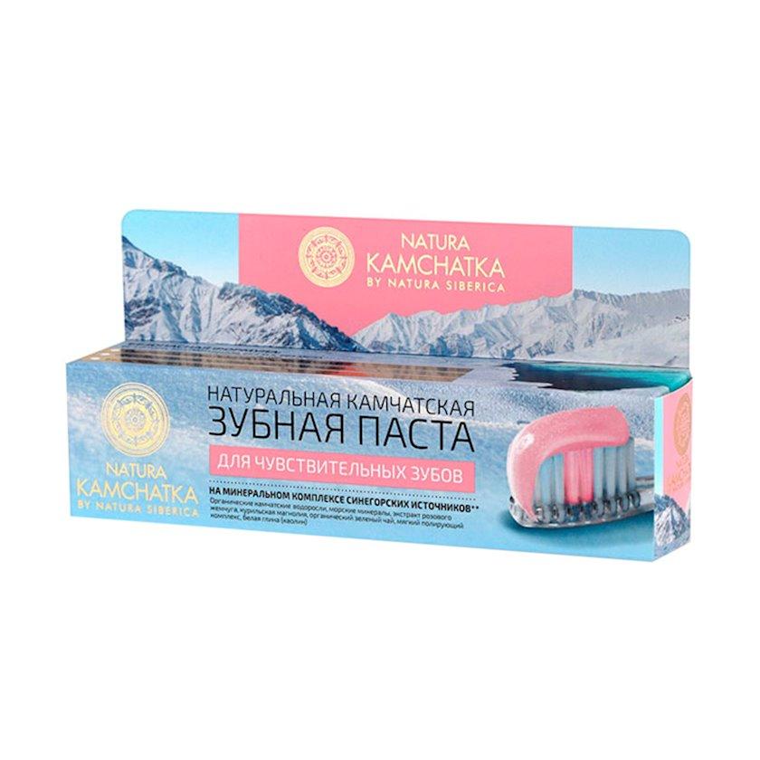 Diş məcunu Natura Siberica Natura Kamchatka Həssas dişlər üçün, 100 ml
