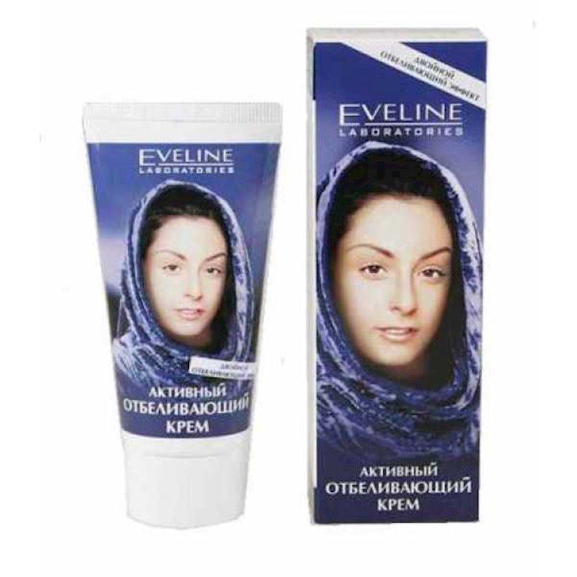 Aktiv ağardıcı krem Eveline Cosmetics Double White Active Cream, qutuda, 50 ml