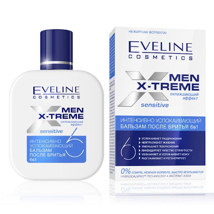 Təraş sonrası sakitləşdirici balzam Eveline Cosmetics Men X-Treme 6-1-də