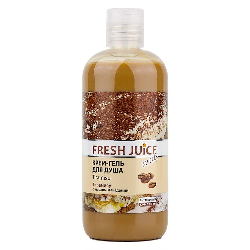 Krem-gel duş üşün Fresh Juice Tiramisu 500 ml