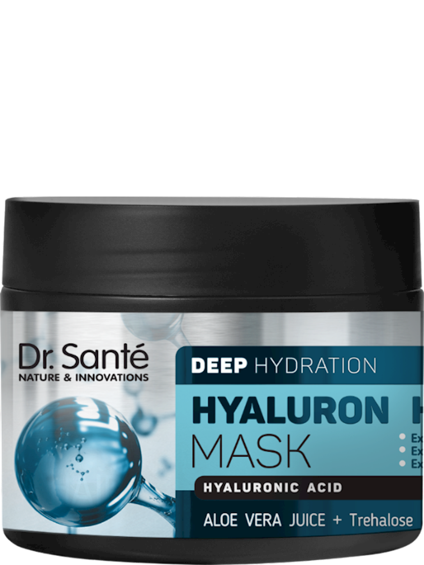 Saç üçün maska Dr.Sante Hyaluron Deep hydration, 300 ml