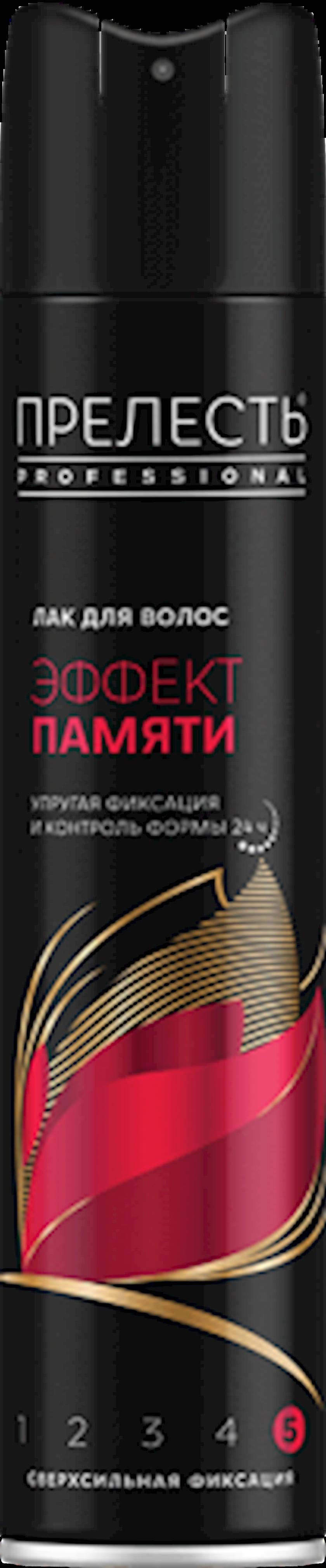 Saç üçün lak Прелесть Professional Yaddaş Effekti , 300 ml