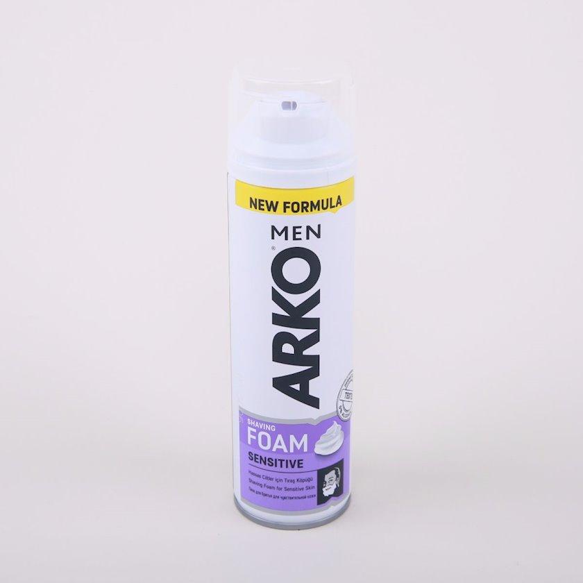 Təraş köpüyü Arko Men Еxtra Sensitive 200 ml