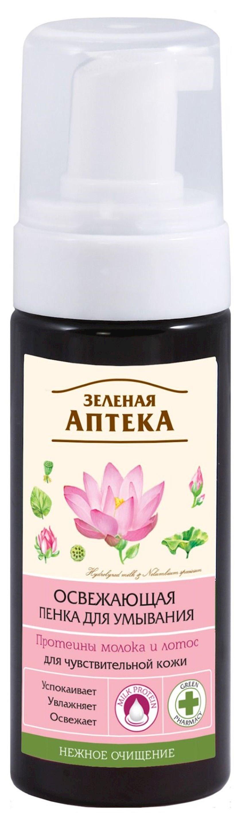 Köpük yuyulmaq üçün Зеленая Аптека Təravətləndirci 150 ml