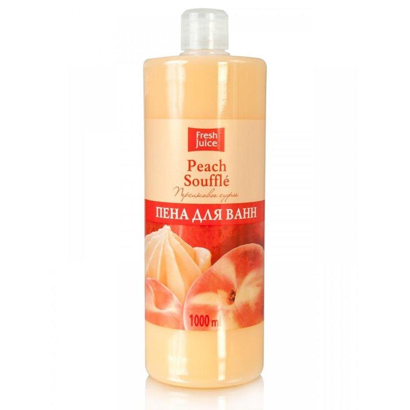 Vanna üçün köpük  Fresh Juice Peach Souffle Şaftalı Suflesi 1000 ml