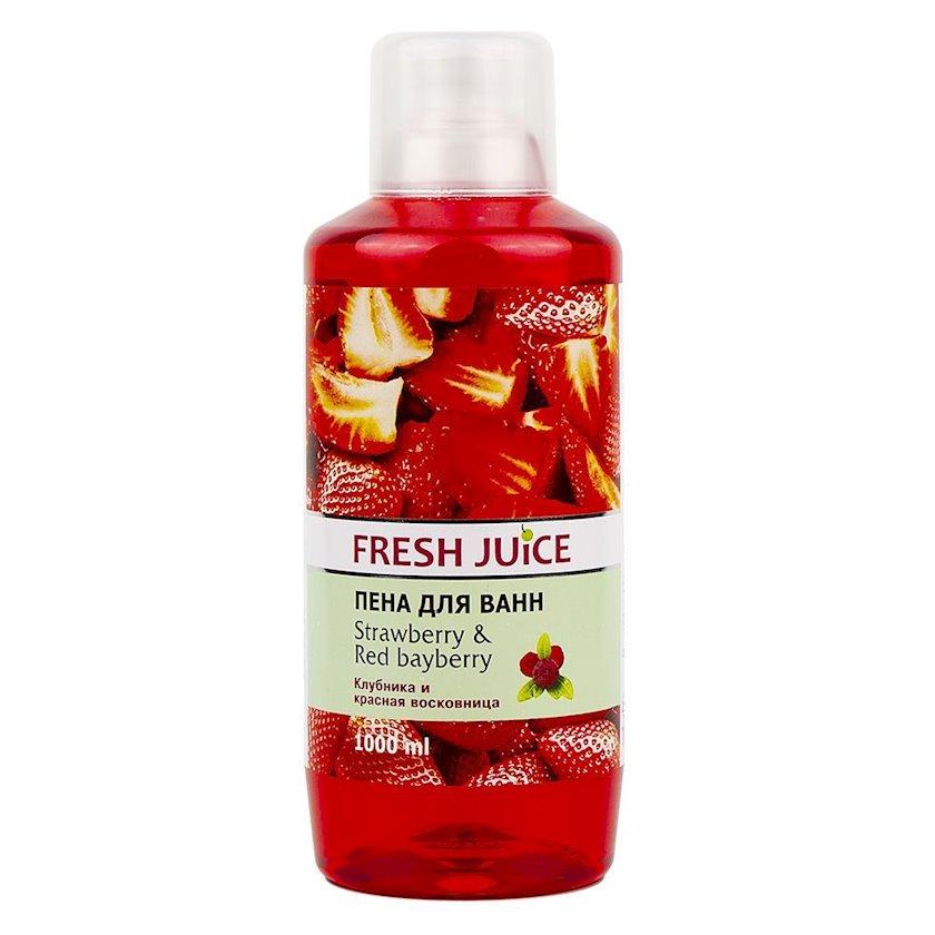 Vanna üçün köpük Fresh Juice Strawberry&Red Bayberry Çiyələk və Qırmızı Qovotu 1000 ml