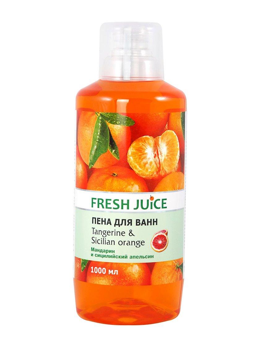 Vanna üçün köpük Fresh Juice Tangerine&Sicilian Orange Mandarin və Siciliya Portağalı 1000 ml