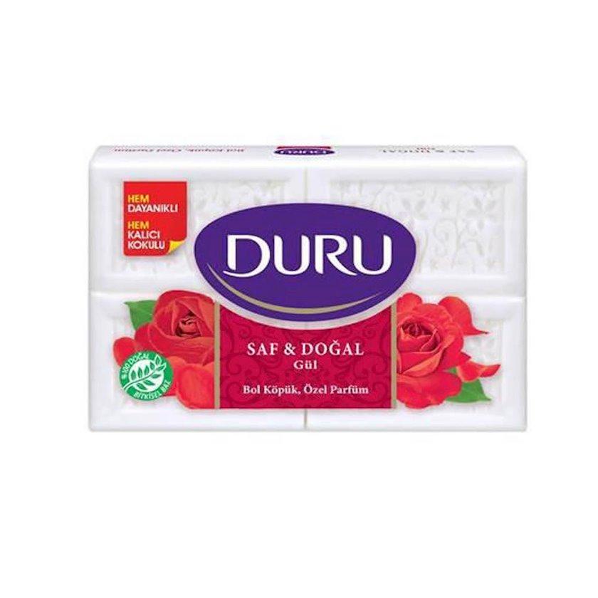 Əl sabunu Duru Pure and Natural Qızılgül 4 əd x 150 q