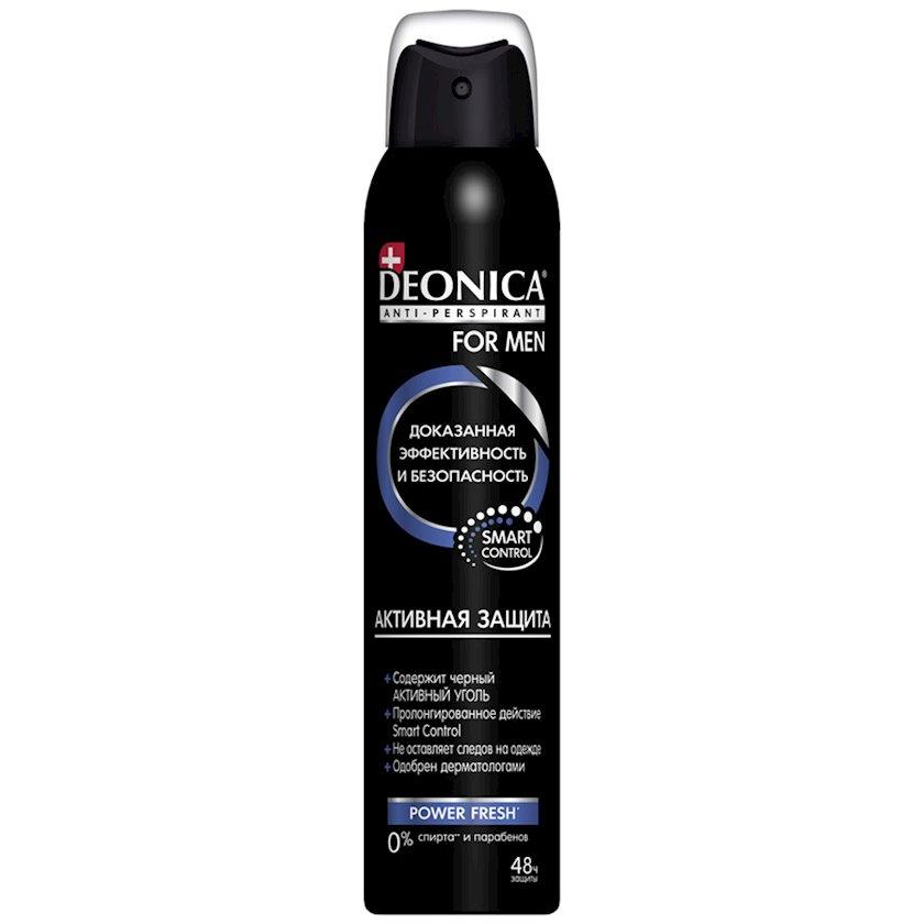 Antiperspirant Deonica For Men Aktiv Qoruma 200 ml