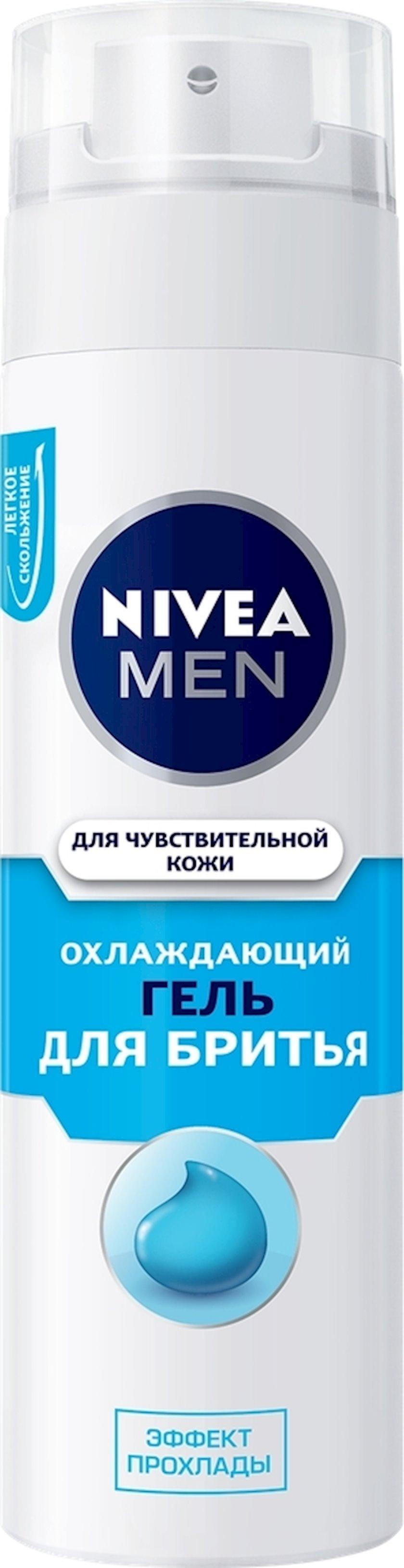 Təraş geli Nivea Men sərinləşdirici həssas dəri üçün spirtsiz 200 ml