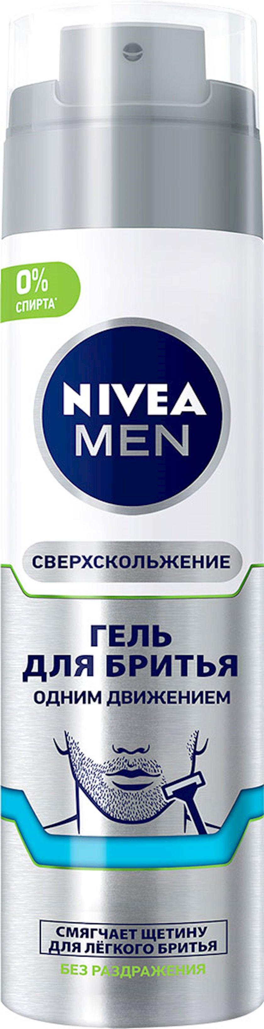 Təraş geli Nivea Men spirtsiz həssas dəri üçün 200 ml