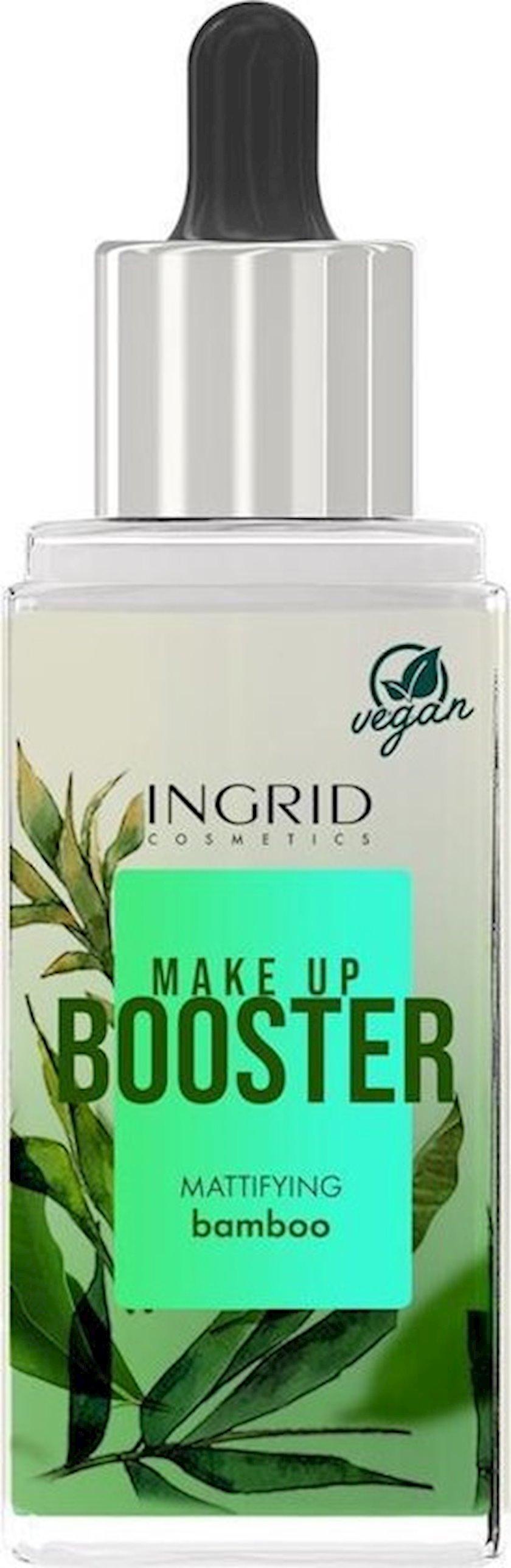 Fluid Ingrid Cosmetics Vegan Mattifying Make Up Booster Bambuk 30 ml