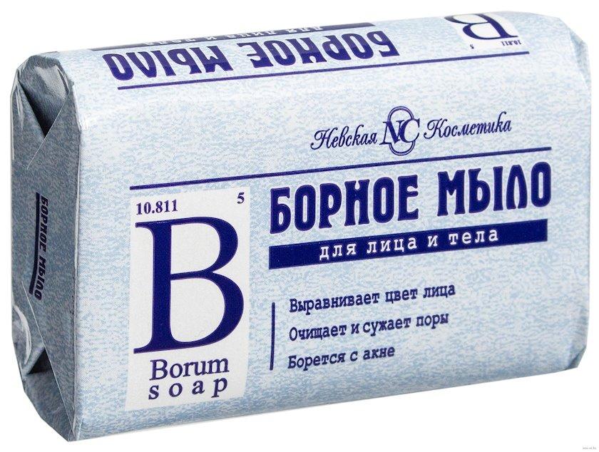 """Tualet sabunu Невская Косметика, """"Борное"""", 90 q"""