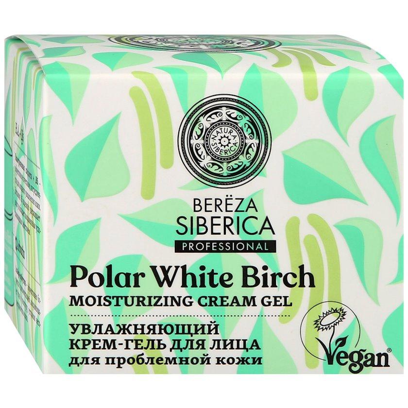 Krem-gel üz üçün Natura Siberica Bereza Siberica, Nəmləndirici, problemli dəri üçün, 50 ml