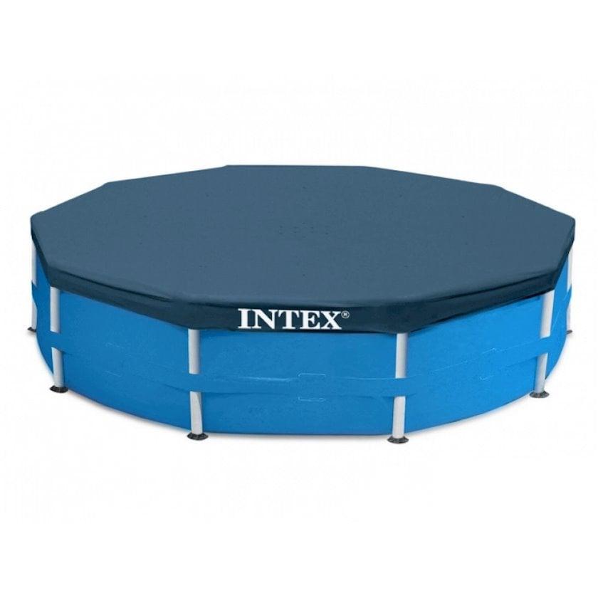 Çərçivə hovuzu üçün tent Intex Metal Frame Pools 28030, göy, 305 sm