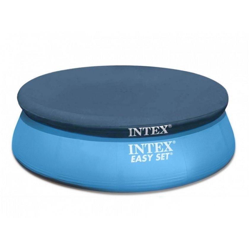 Şişmə hovuz üçün tent Intex Easy Set Pools 28023, göy, 457 sm