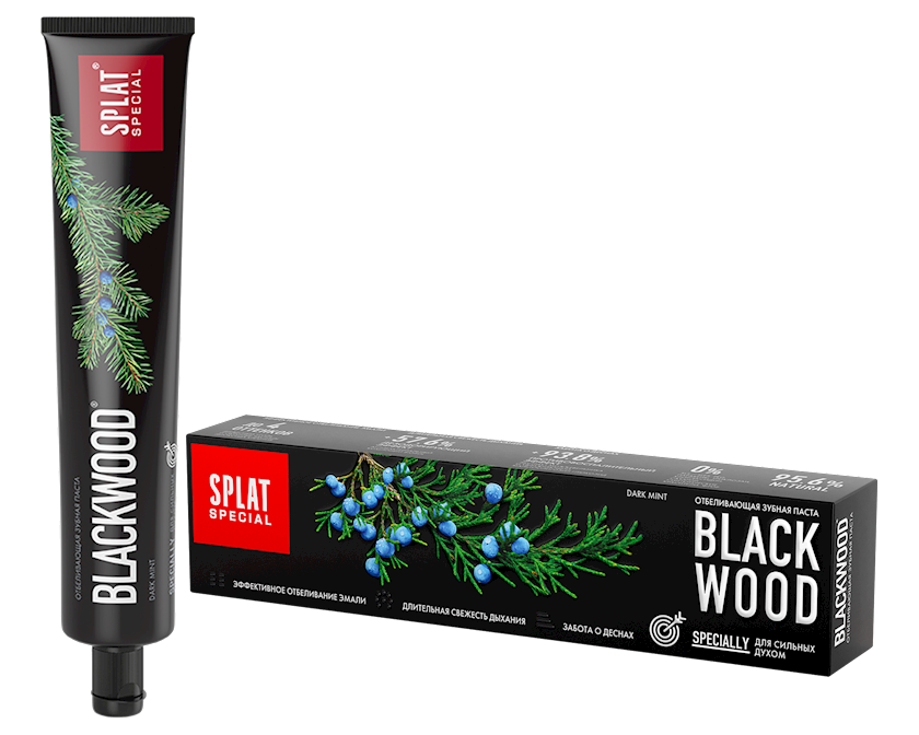 Diş məcunu Splat Special Blackwood 75 ml