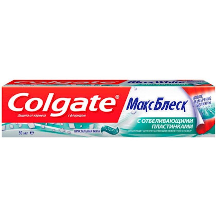 Diş məcunu Colgate MaksParlaqlıq 50 ml
