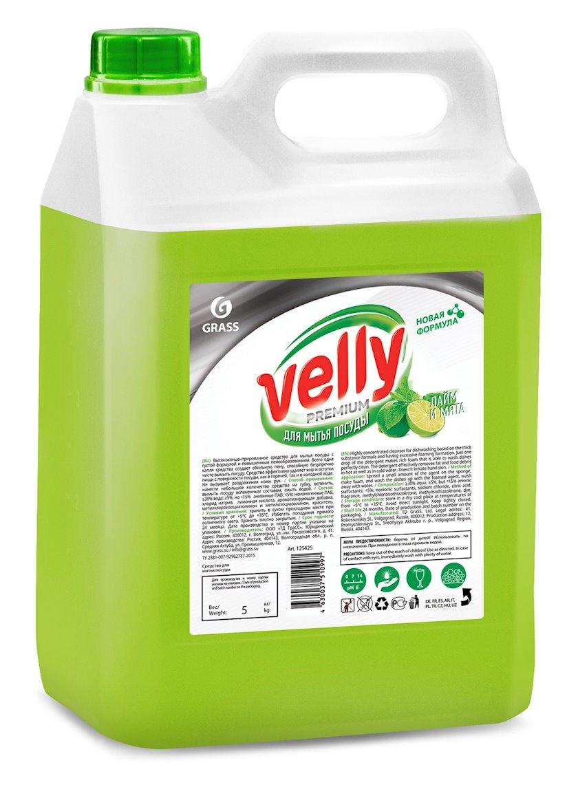 Qabyuyan vasitə Grass Velly Premium laym və nanə ətri ilə 5 kq