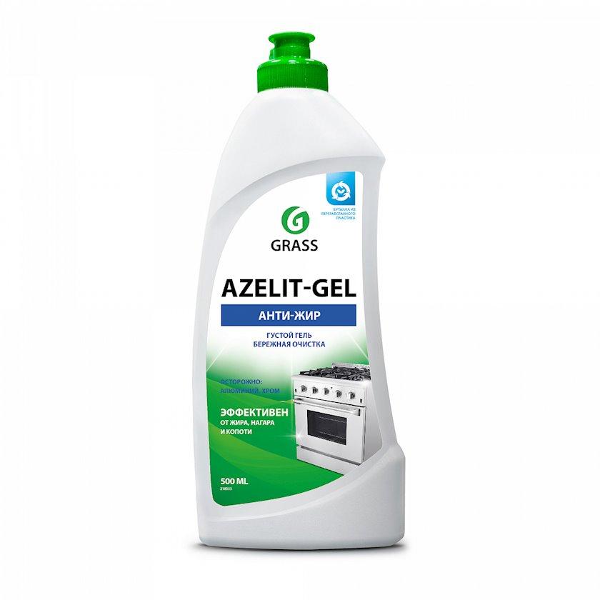 Mətbəx üçün universal Anti-yağ təmizləyici gel Grass Azelit-Gel 500 ml