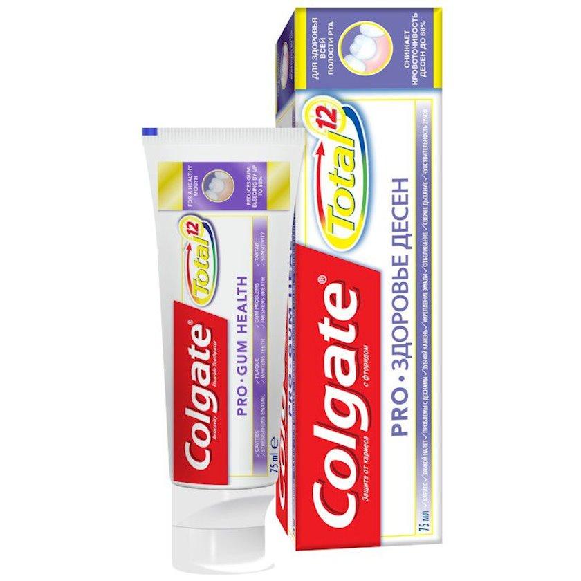 Kompleks diş məcunu Colgate Total 12 Professional Diş əti sağlamlığı Antibakterial 75 ml