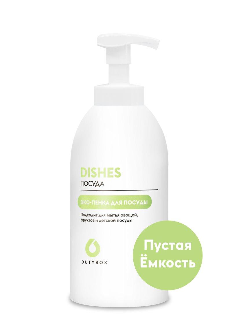 Doldurula bilən şüşə və qab yumaq üçün kapsullar DutyBox Dishes meyvə ətri ilə 500 ml x 50 ml (1 əd.)