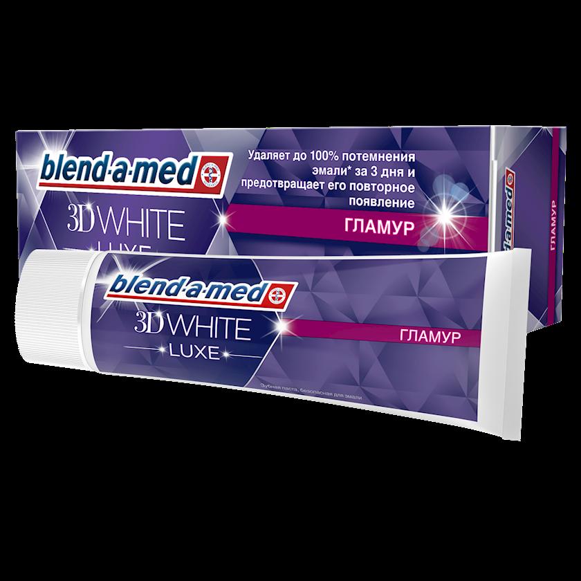 Diş məcunu Blend-A-Med 3D White Luxe Qlamur 75 ml
