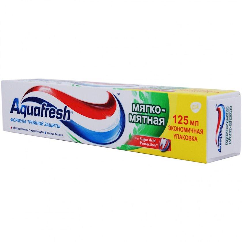 Diş məcunu Aquafresh Yumşaq-nanəli 125 ml