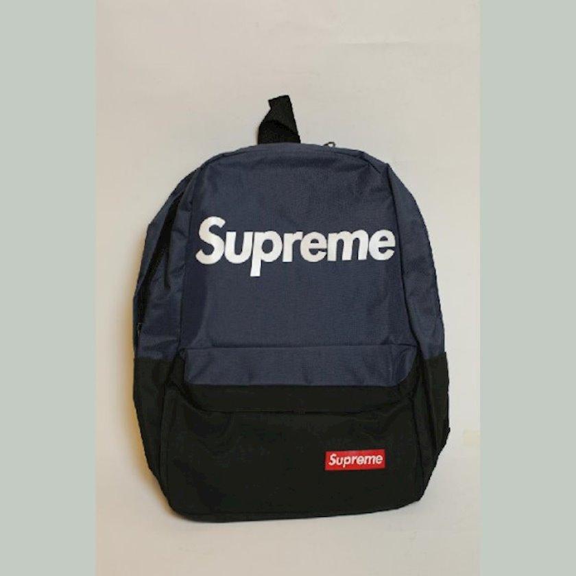İdman üçün bel çantası Supreme 220-3, göy/qara