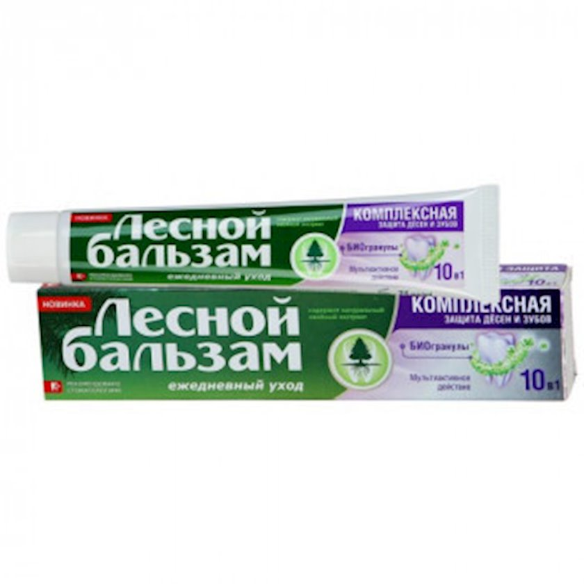 Diş məcunu Лесной Бальзам Bioqranullar 75 ml