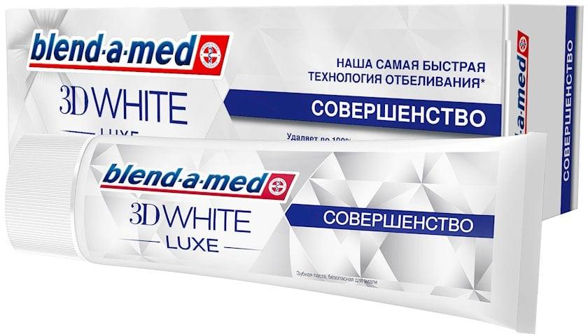 Diş məcunu Blend-A-Med 3D White Luxe Mükəmməllik 75 ml