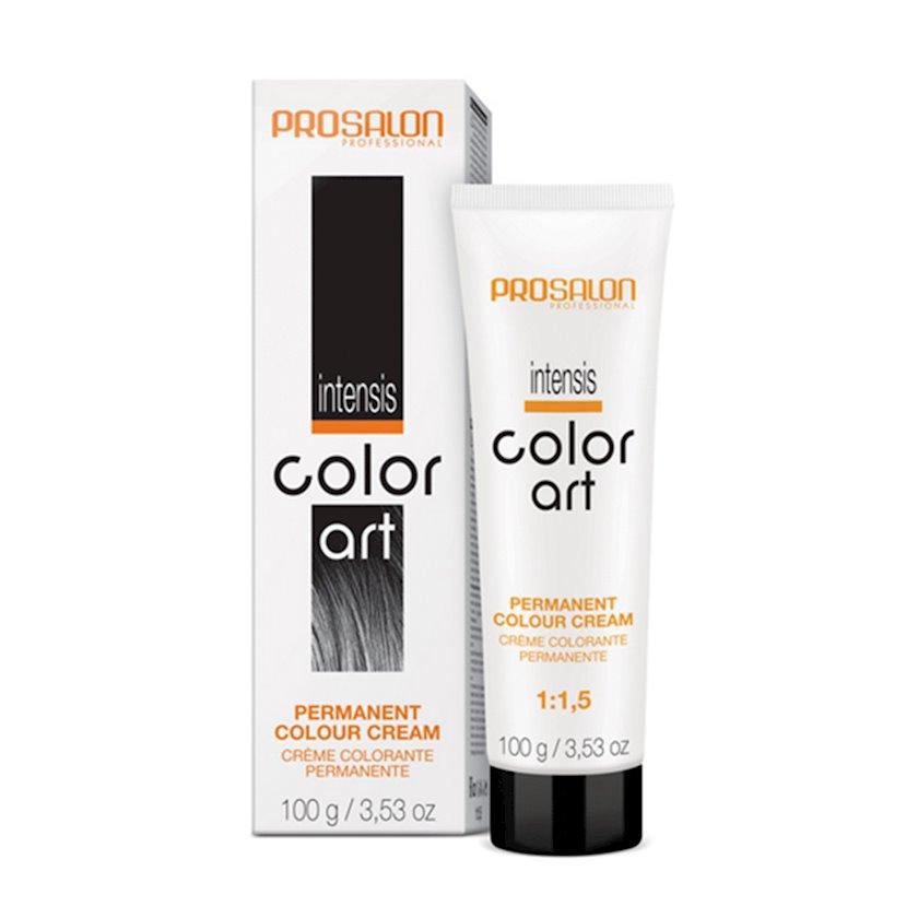 Saçlar üçün krem-boya Prosalon Professional Intensis Color Art № 6-44 copper 100 ml