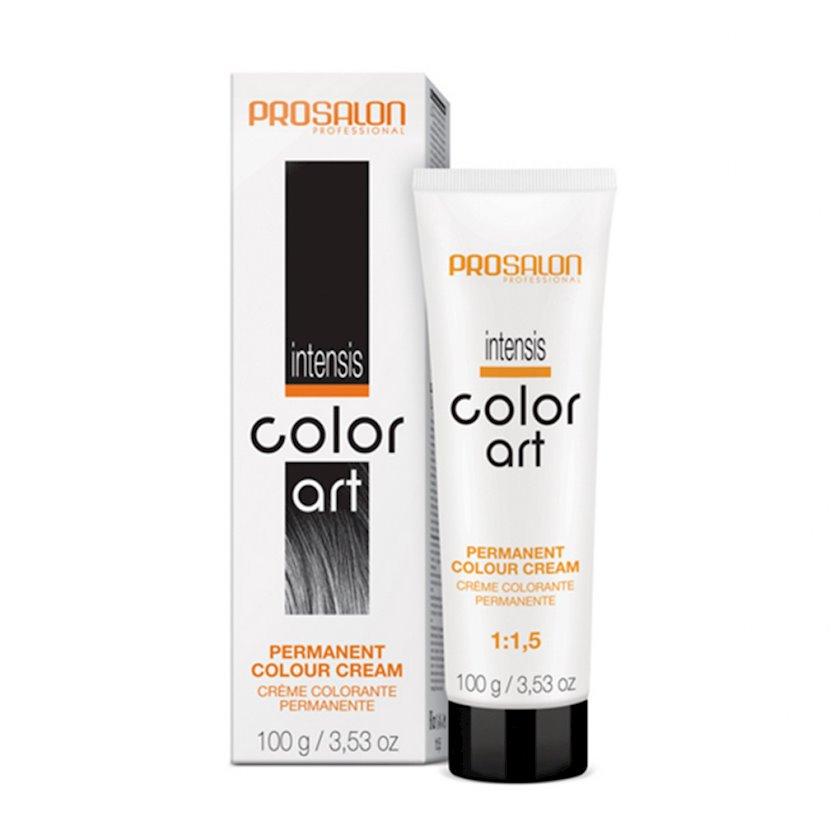 Saçlar üçün krem-boya Prosalon Professional Intensis Color Art № 7-04 dark copper blond 100 ml