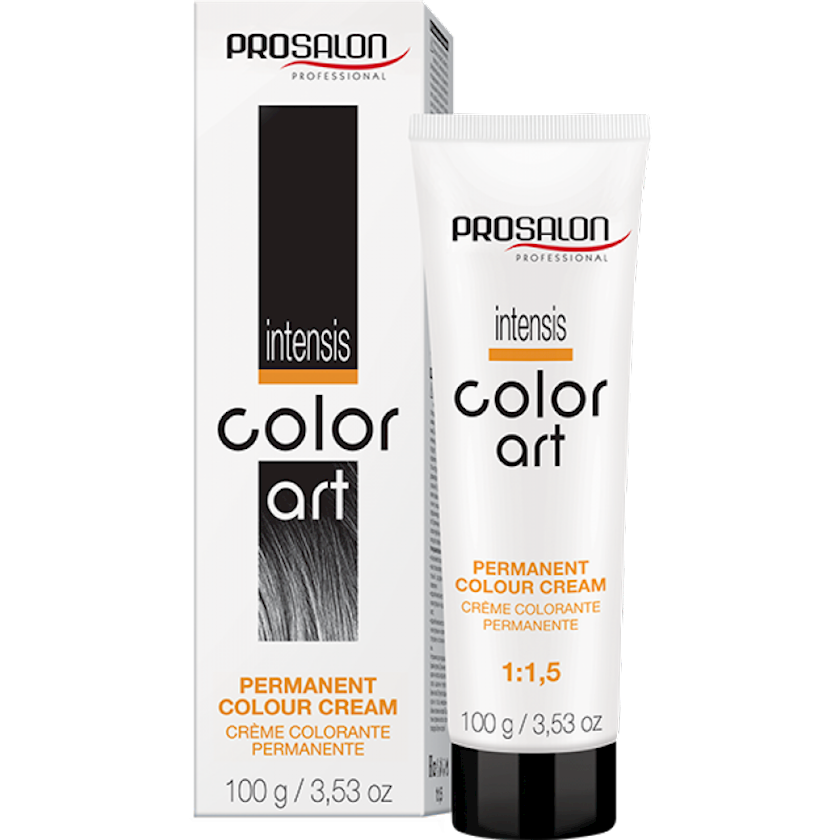 Saçlar üçün krem-boya Prosalon Professional Intensis Color Art № 7-4G golden copper 100 ml