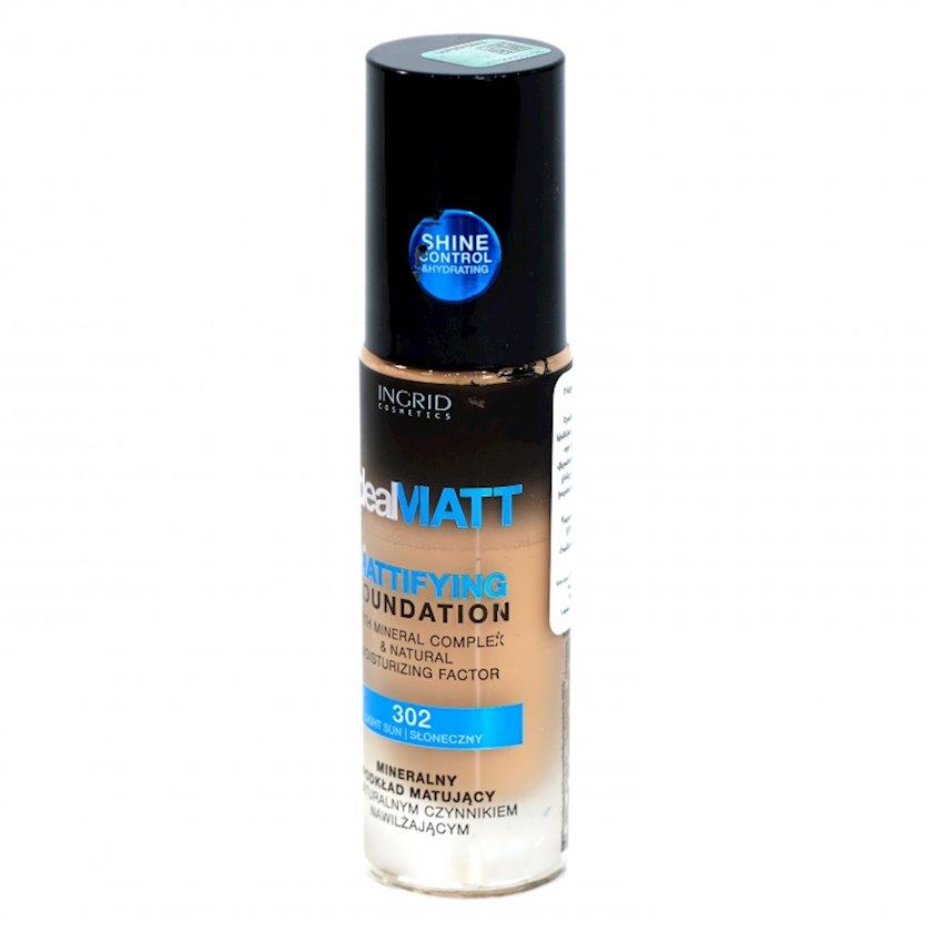 Tonal krem Ingrid Cosmetics Ideal Matt Mattifying Foundation №302