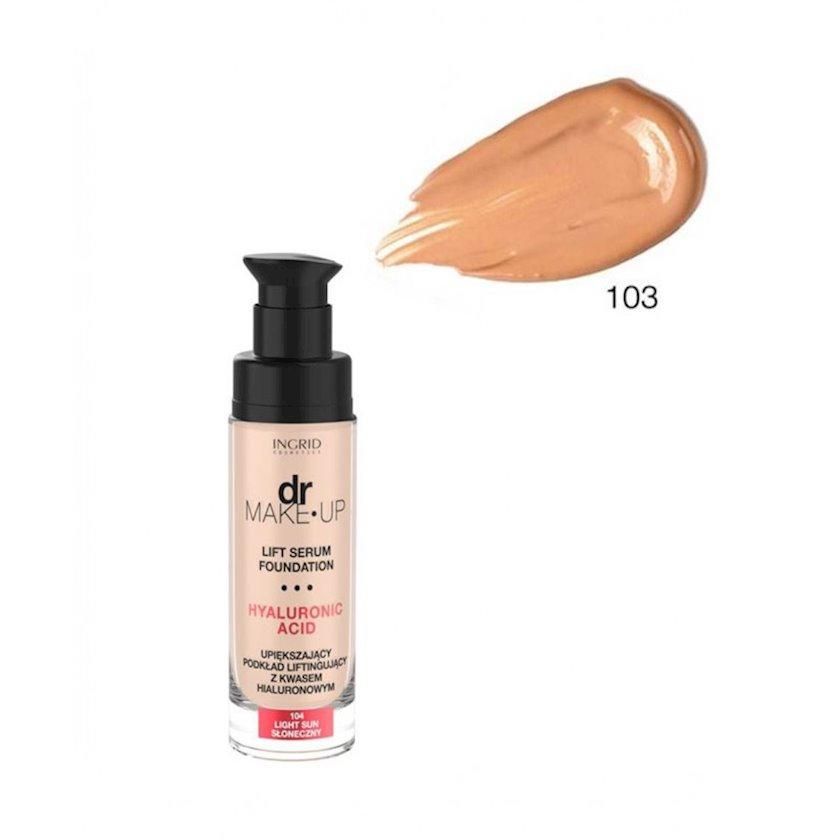 Tonal krem Ingrid DR. Make up zərdab ilə №103 30 ml