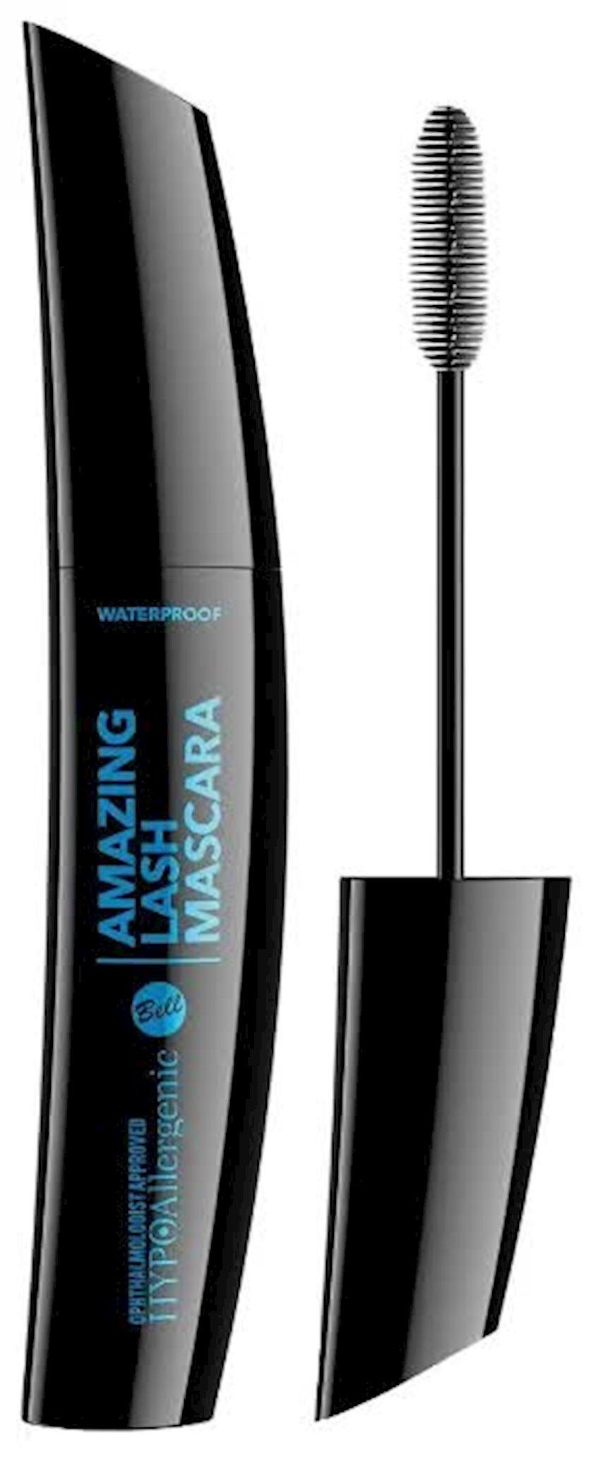Tuş Bell Hypo Allergenic Amasing Lash Waterproof Qara 11 q