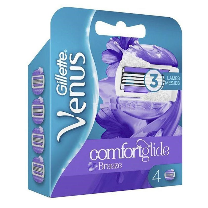 Təraş üçün ehtiyat kaset dəsti Gillette Venus. ComfortGlide Breeze