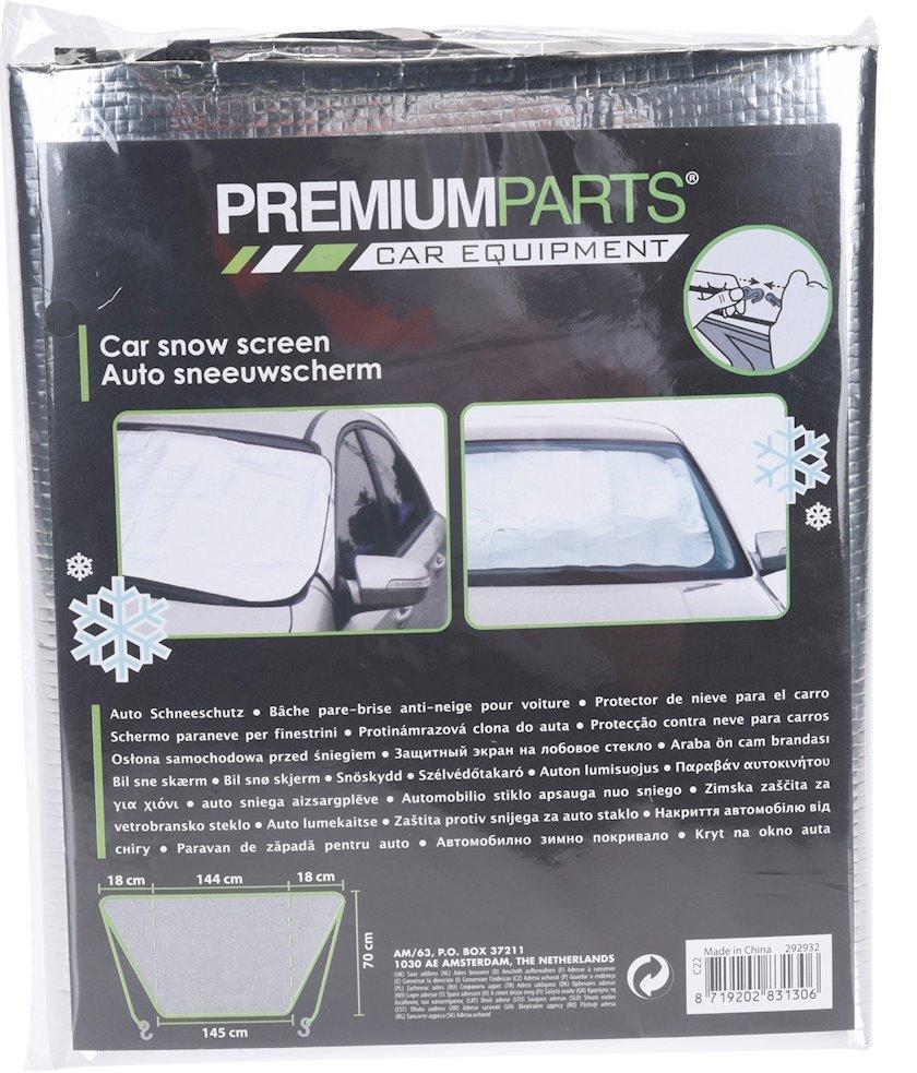 Günlük Orion Premium Parts günəşdən qoruyucu avtomobilin şüşəsi üçün, 144х70 sm