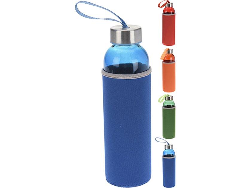 Su qabı Koopman Excellent Houseware, 500 ml, göy, yaşıl, qırmızı, narıncı