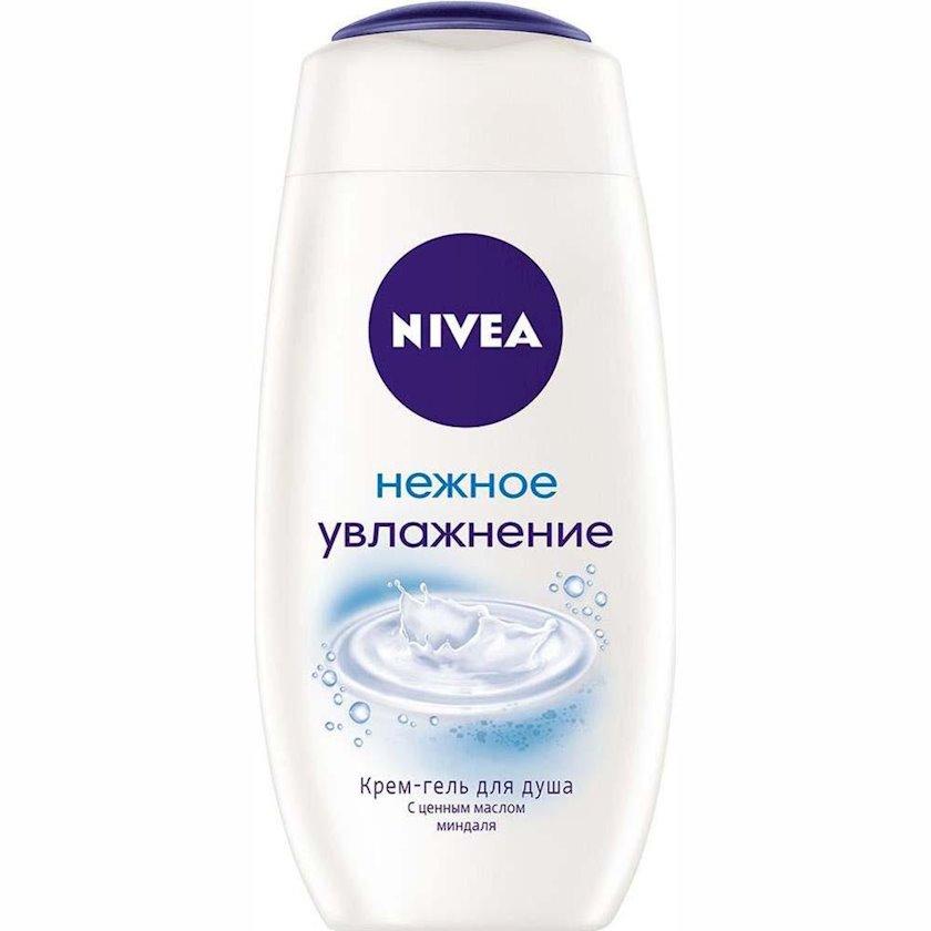 Duş geli Nivea Nəmləndirmə və qayğı, 250 ml