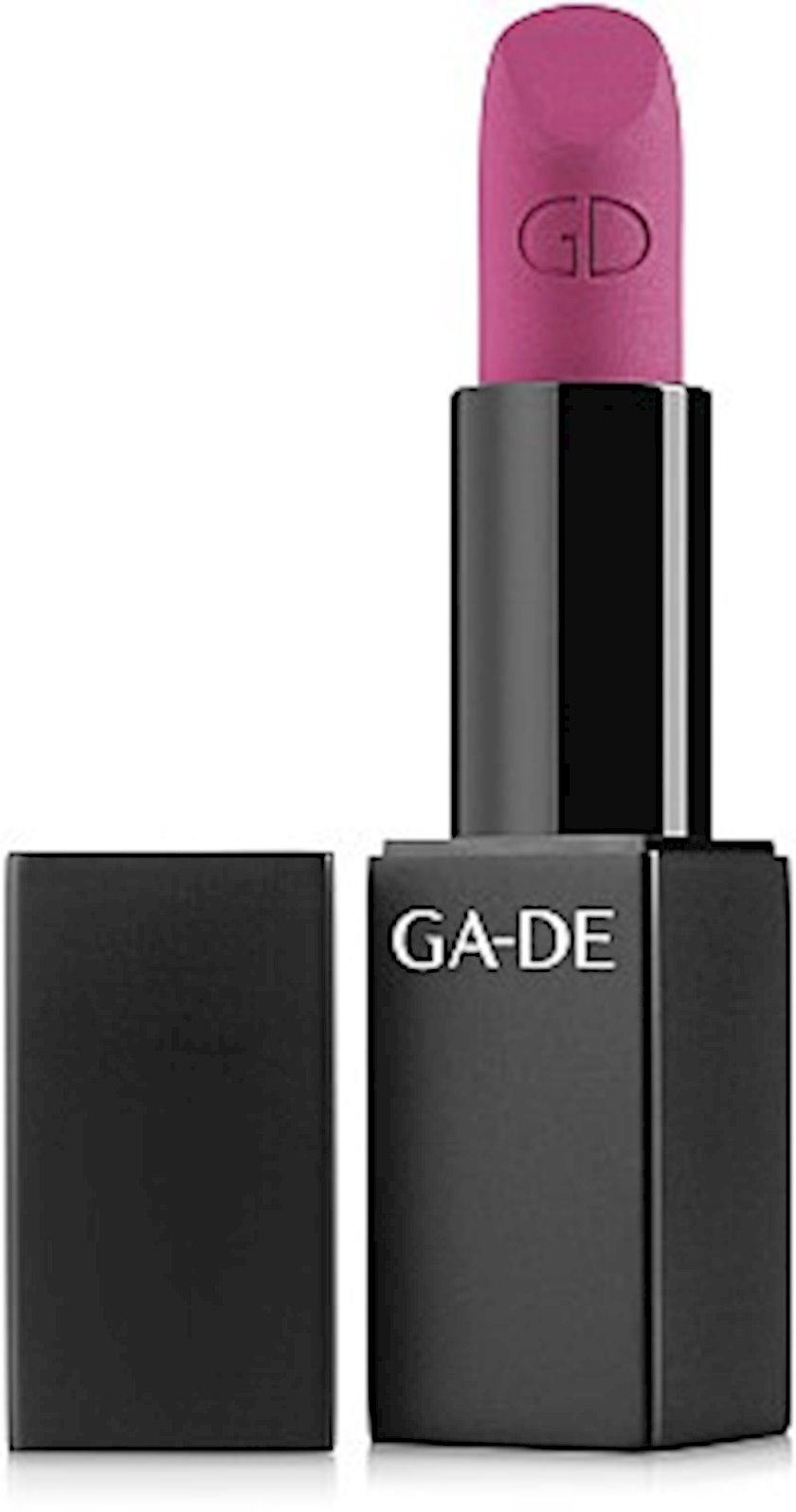 Dodaq üçün mat pomada Ga-De Velveteen Pure Matte Lipstick 764 Conspirancy