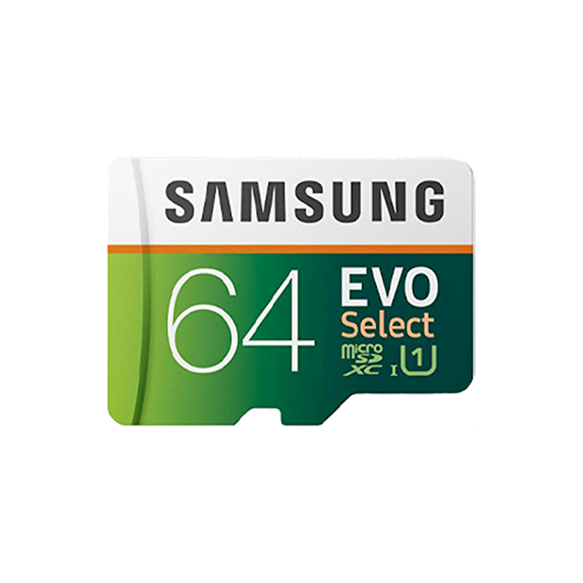 Yaddaş kartı Samsung  EVO Select microSDXC 64 Gb