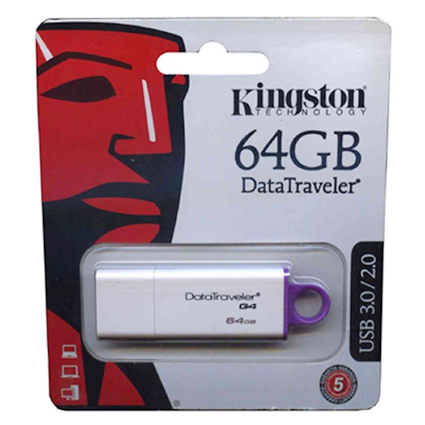Flash yaddaş Kingston 64GB USB 3.0 DataTraveler I G4