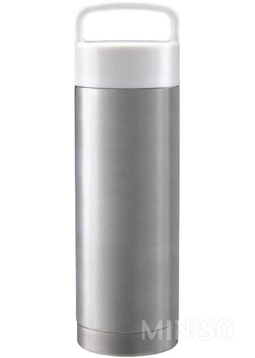Vakuumlu termos Miniso 360 ml, 6.5x18.5 sm, metal