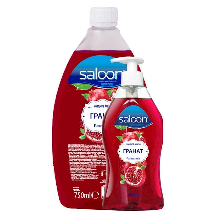 Maye sabun dozator ilə Saloon Nar 400+750 ml
